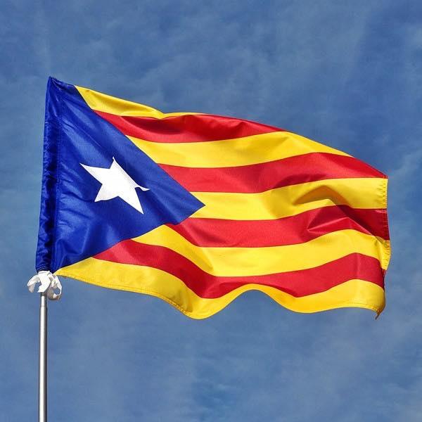 L'Ajuntament de les Borges reparteix estelades a la població per a engalanar els balcons per la Diada Nacional