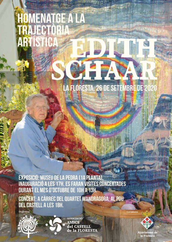 Homenatge a la trajectòria artística d'Edith Schaar a la Floresta