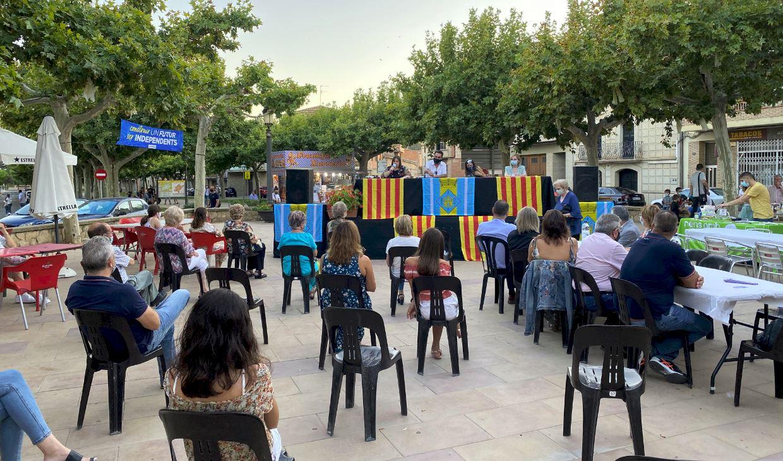 Presentació d'un nou projecte solidari a Castelldans