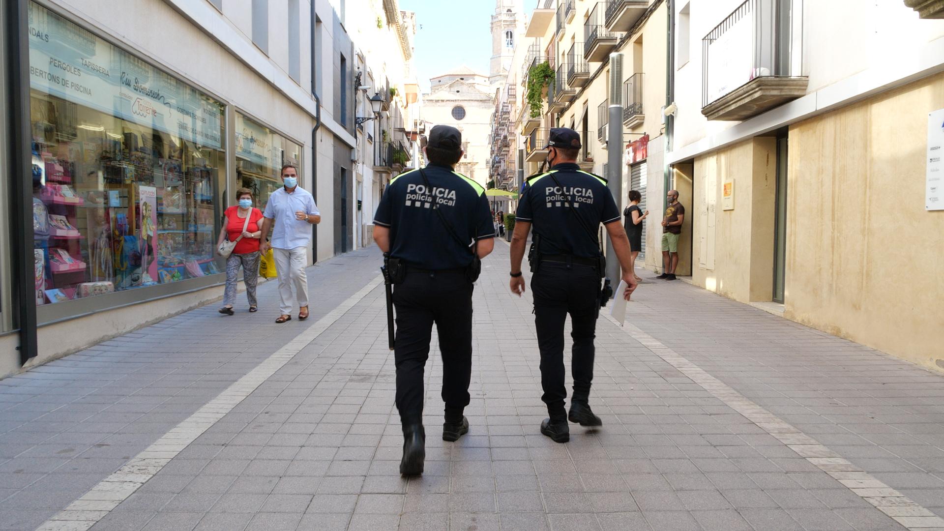 Obert el termini per a optar a una de les dues places d'agent de la Policia Local de les Borges