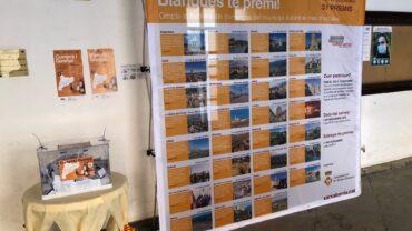 L'urna i els premis de la campanya Compra i Guanya a les Borges 2020