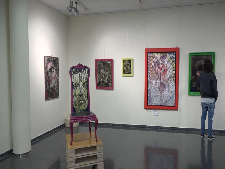 """Exposició """"PUNKfinament""""  de l'artista Ivan Egea"""