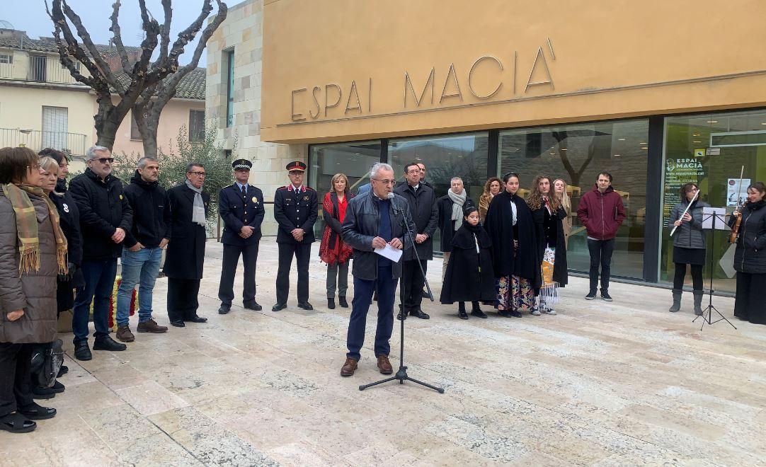 Les Borges ret homenatge a la figura del president Macià