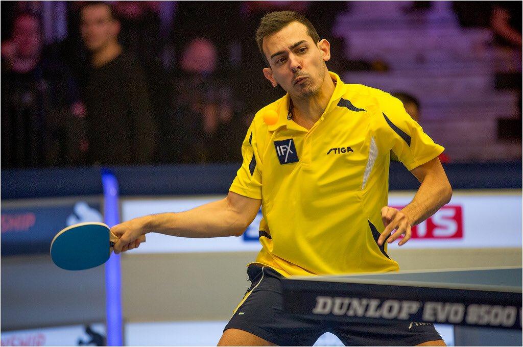 Marc Duran arriba als quarts de final al World Ping Pong Masters