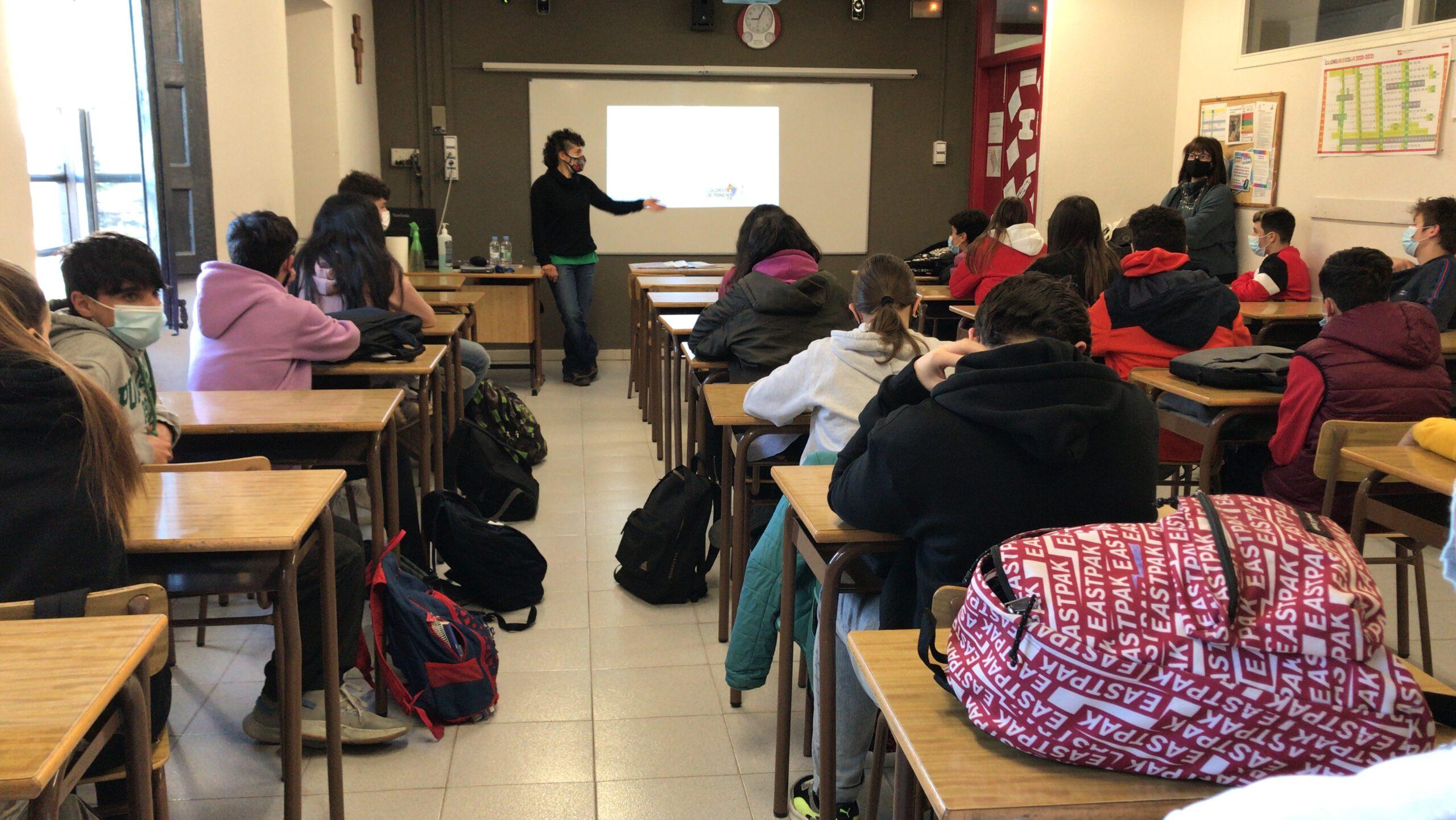 El SAI de les Garrigues organitza un taller de diversitat sexual per a l'alumnat de secundària