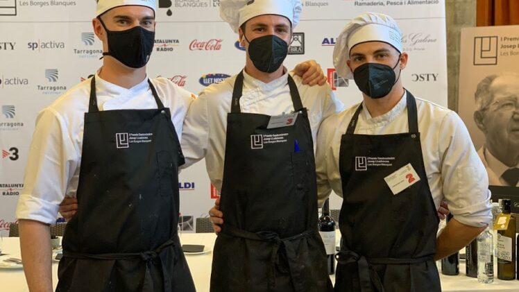 Els tres finalistes de Girona