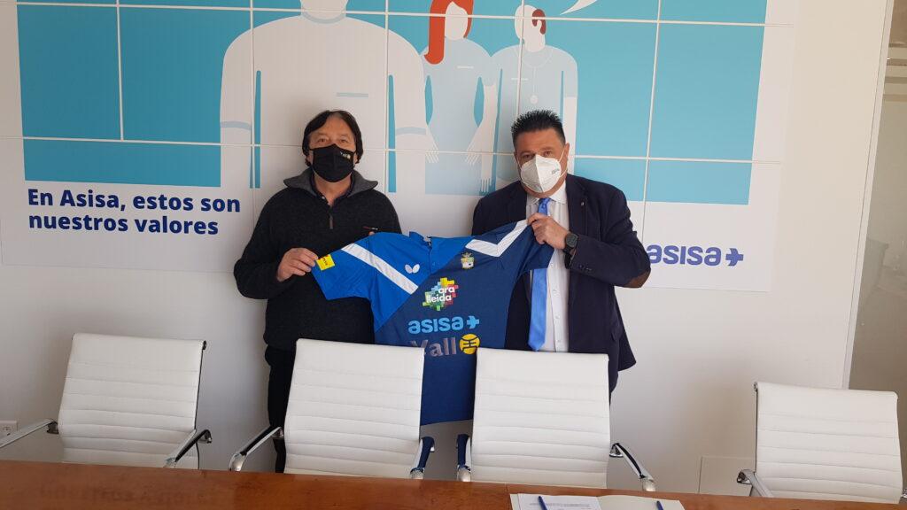 ASISA renova una temporada més el patrocini del primer equip de la superdivisió del CTT Borges