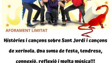 Cartell 'De cap a Sant Jordi'