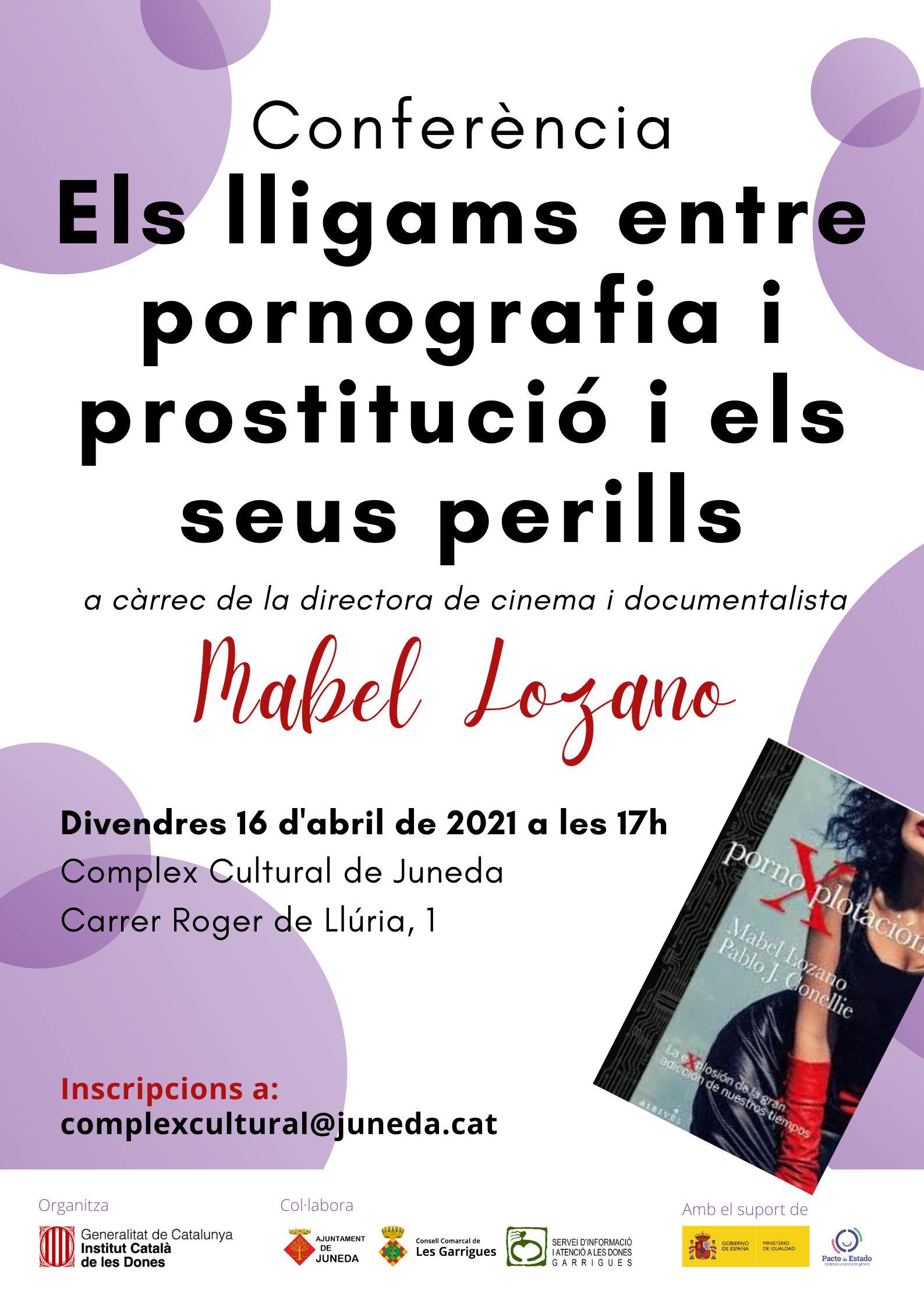 """L'Institut Català de les Dones programa a les Garrigues diferents activitats en el marc del projecte """"Conseqüències del consum de prostitució"""""""