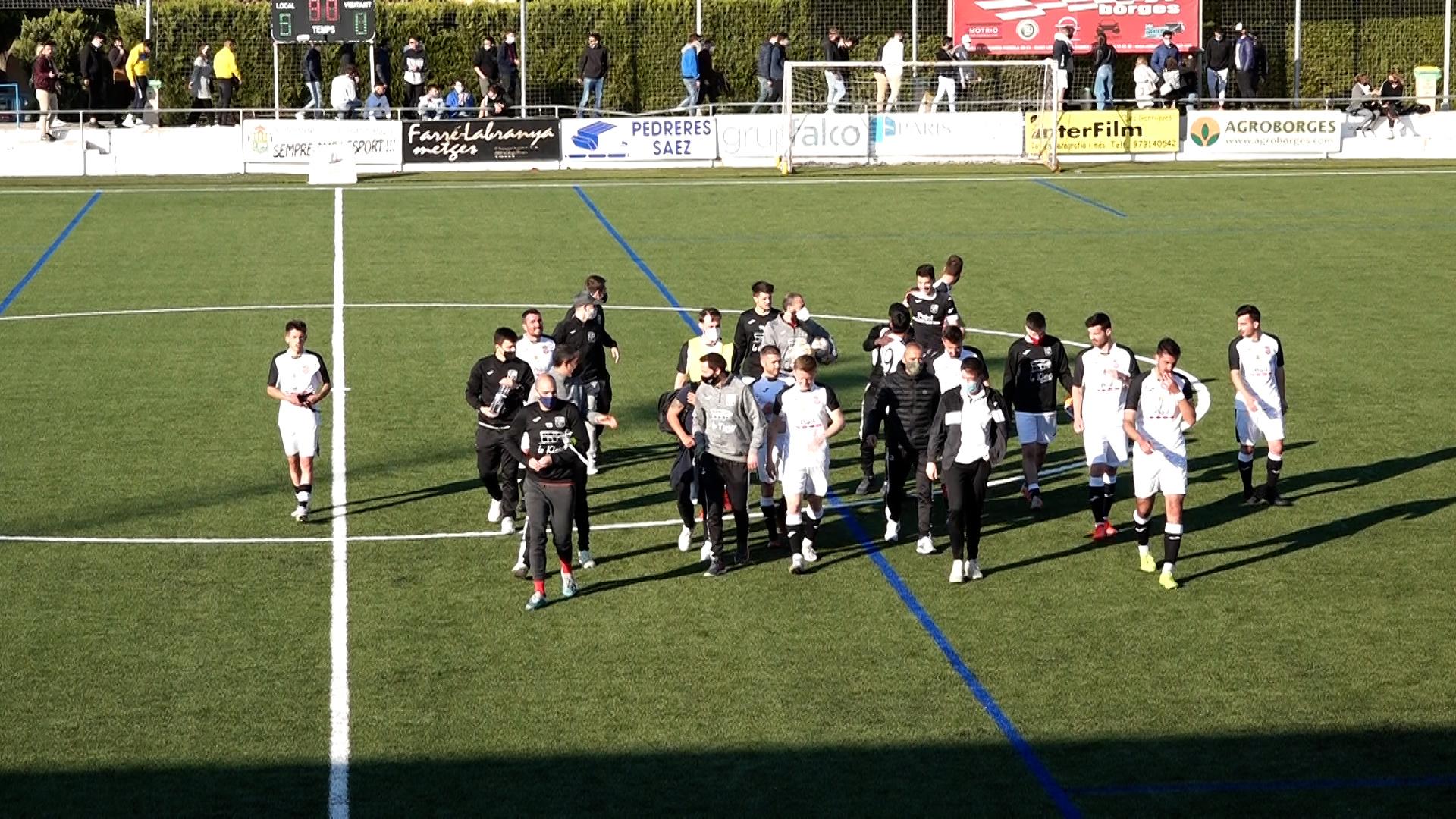 El  FC Borges es col·loca líder després de guanyar al FC Alcarràs per un contundent 5 a 0