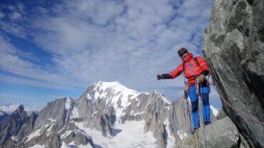 Víctor Sans d'expedició