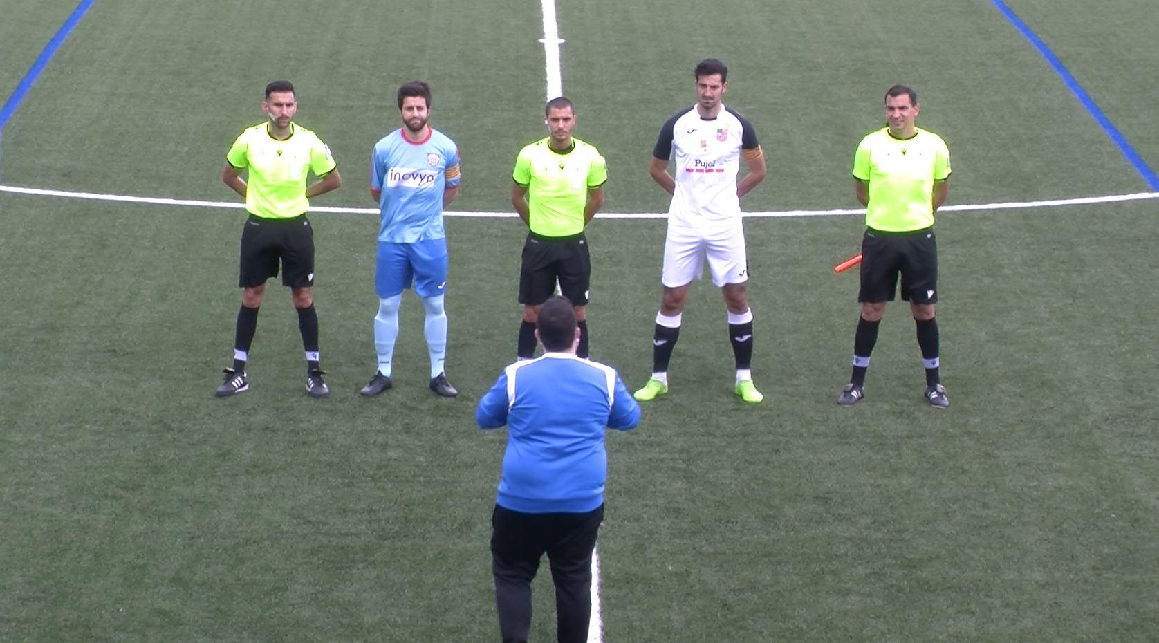 El FC Borges pateix però aconsegueix vèncer el Martorell per la mínima