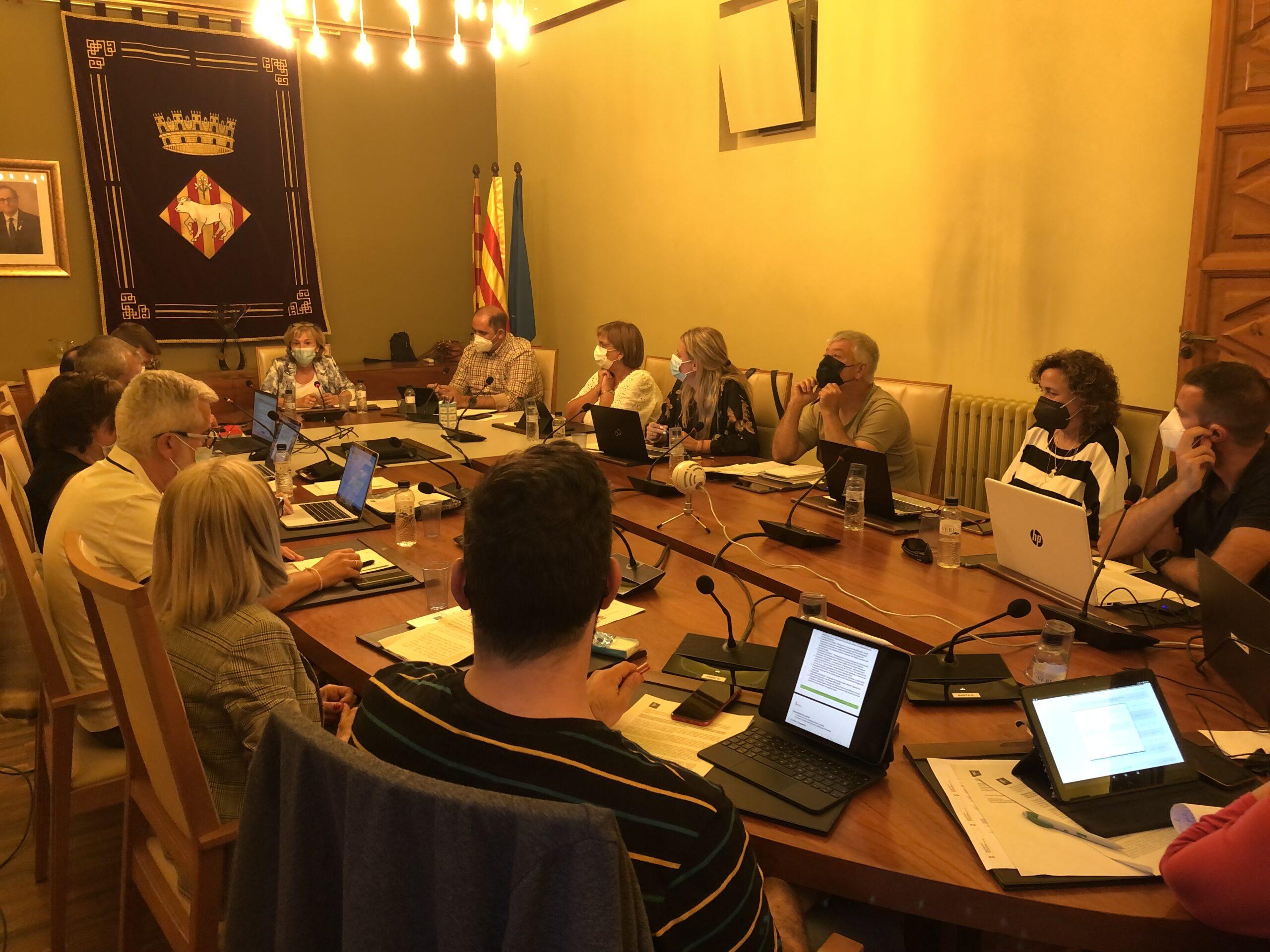 El Ple de les Borges aprova el pla especial de la Masia Salat i el pla d'ordenació urbanística de la Cooperativa de Sant Isidre